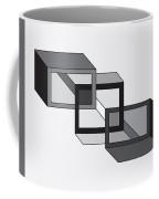 Drawn2shapes8bnw Coffee Mug