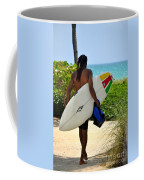 Dreadlocks Surfer Dude Coffee Mug