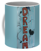 Dream Acrylic Watercolor Coffee Mug