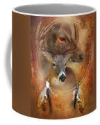 Dream Catcher - Autumn Deer Coffee Mug