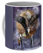Dream Catcher - Spirit Eagle 3 Coffee Mug