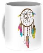 Dreamcatcher Rainbow Coffee Mug