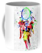 Dreamcatcher Grunge Coffee Mug