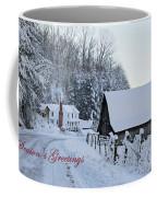 Dreaming Of A White Christmas Coffee Mug