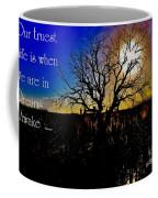 Dreams Awake Coffee Mug