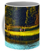 Dreams Can Fly Impasto Coffee Mug