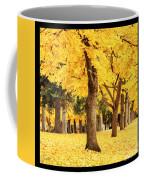 Dreamy Autumn Gold Coffee Mug