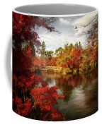 Dreamy Autumn Impressionism Coffee Mug
