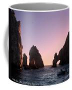 Dreamy Cabo Sunset The Arch Coffee Mug