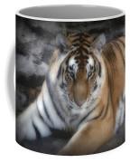 Dreamy Tiger Coffee Mug by Sandy Keeton