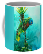 Drenched - St. Lucia Parrot Coffee Mug