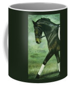 Dressage Horse Caper Coffee Mug