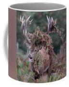 Dressed Red Stag Coffee Mug
