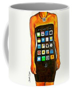 Dressing Iphone Coffee Mug