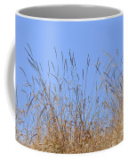 Dried Grass Blue Sky Coffee Mug