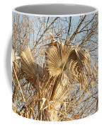 Dried Palm Fronds In The Wind Coffee Mug