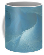 Drifted Snow Waves Coffee Mug