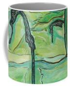 Drifting Seahorse Coffee Mug