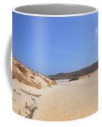 Driftwood Abandoned On A Beautiful Remote Beach In Aruba Coffee Mug