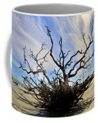 Driftwood And Roots Hunting Island Sc Coffee Mug by Lisa Wooten