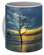 Driftwood Beach Sunrise Jekyll Island Georgia Coffee Mug