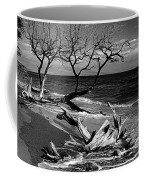 Driftwood Bw Fine Art Photography Print Coffee Mug