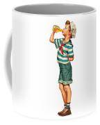 Drink Up Sailor Coffee Mug