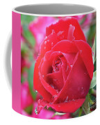 Dripping In Beauty - Double Knock Out Rose Coffee Mug