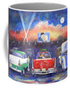 Drive-in Movie Theater Coffee Mug