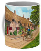 Driving A Jaunting Cart Coffee Mug