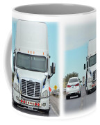 Driving In Reverse Coffee Mug