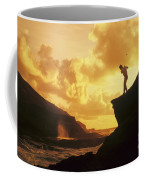 Driving Off A Cliff Coffee Mug