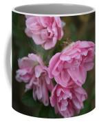 Droopy Pink Roses Coffee Mug
