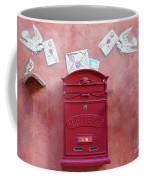 Drop Me A Letter Mr. Postman Coffee Mug