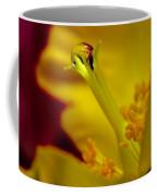 Drop On Flower Stalk Coffee Mug