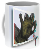 Drop Out - Use Red-cyan 3d Glasses Coffee Mug