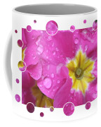Bubbly Pink Raindrops  Coffee Mug