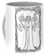 Druid Woman Shush Coffee Mug