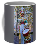 Drummer Boy  In Rockefeller Center Coffee Mug