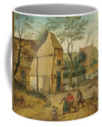 Drunkard Being Taken Home From The Tavern By His Wife Coffee Mug