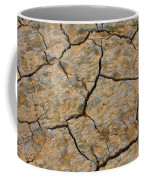 Dry Cracked Lake Bed Coffee Mug