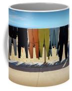 Drying Wet Suits Coffee Mug