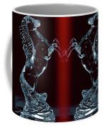 Dual Of Stallions Coffee Mug