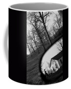Duality - A Black And White Photograph Symbolically Representing The Gravity Of Choice  Coffee Mug