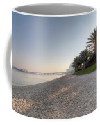 Dubai Beach Sunset Coffee Mug