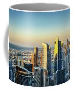 Dubai Towers At Sunset. Coffee Mug
