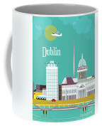 Dublin Ireland Vertical Scene Coffee Mug