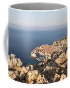 Dubrovnik And The Adriatic Coast In Croatia Coffee Mug