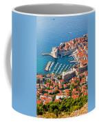 Dubrovnik From Above Coffee Mug
