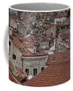 Dubrovnik Rooftops #3 Coffee Mug